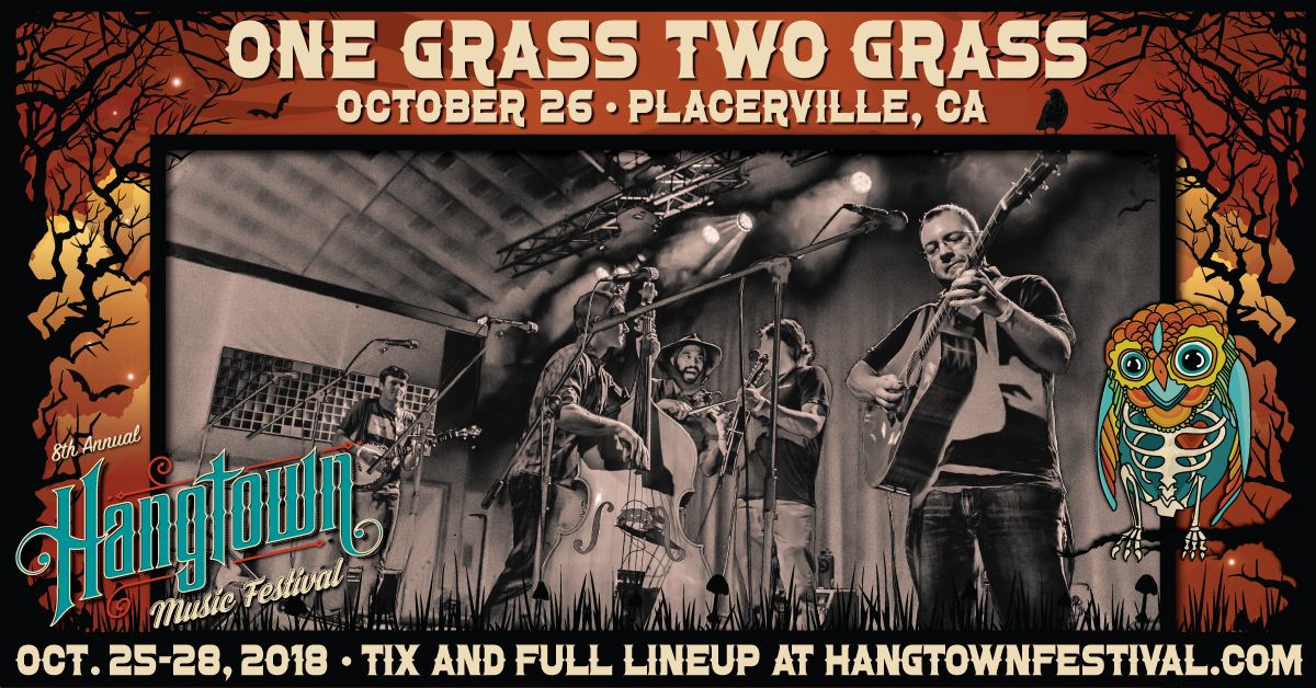 One Grass Two Grass California string band & Bluegrass live music